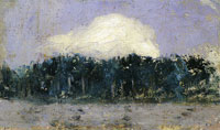 Edouard Vuillard - White Cloud over the Forest