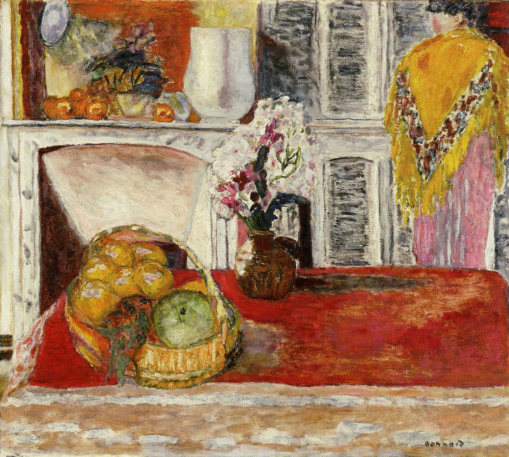 Pierre Bonnard - Corner of the Dining Room at Le Cannet