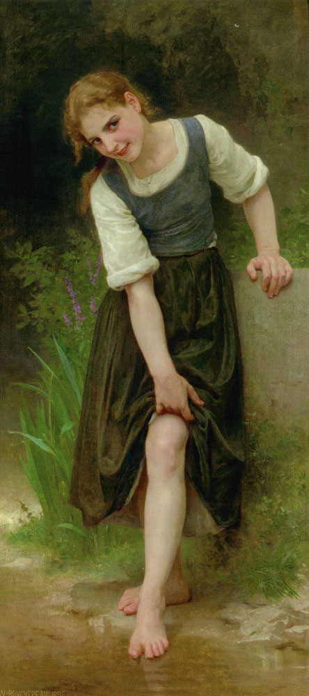 William-Adolphe Bouguereau - The Ford
