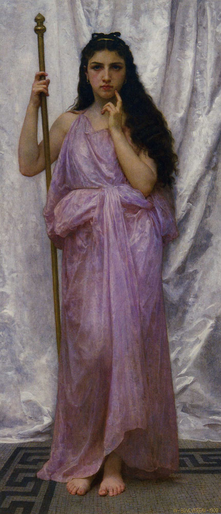 William-Adolphe Bouguereau - Young Priestess