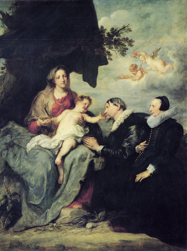 Anthony van Dyck - The Virgin and Donors