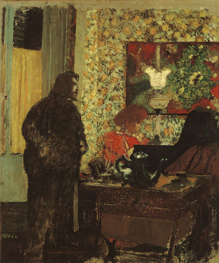 Edouard Vuillard - Cipa Listening to Misia Playing the Piano