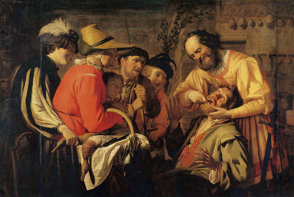 Gerard van Honthorst - The Tooth Puller