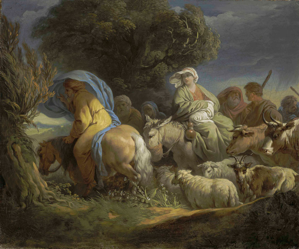 Louis-Jean-François Lagrenée - The Return of Abraham to the Land of Canaan