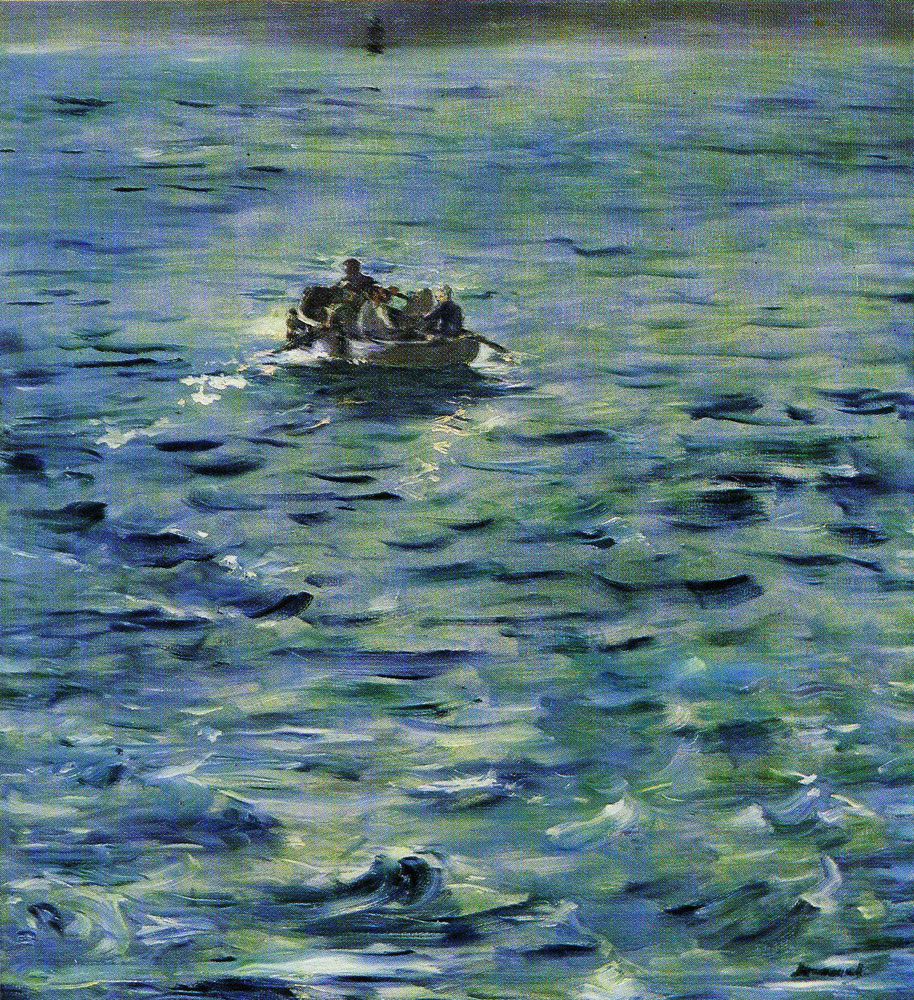 Edouard Manet - The Escape of Rochefort