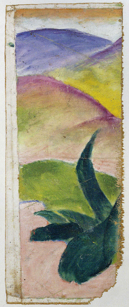 Franz Marc - Large Green Agave
