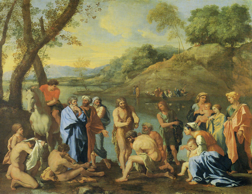 Nicolas Poussin - St. John Baptizing the People