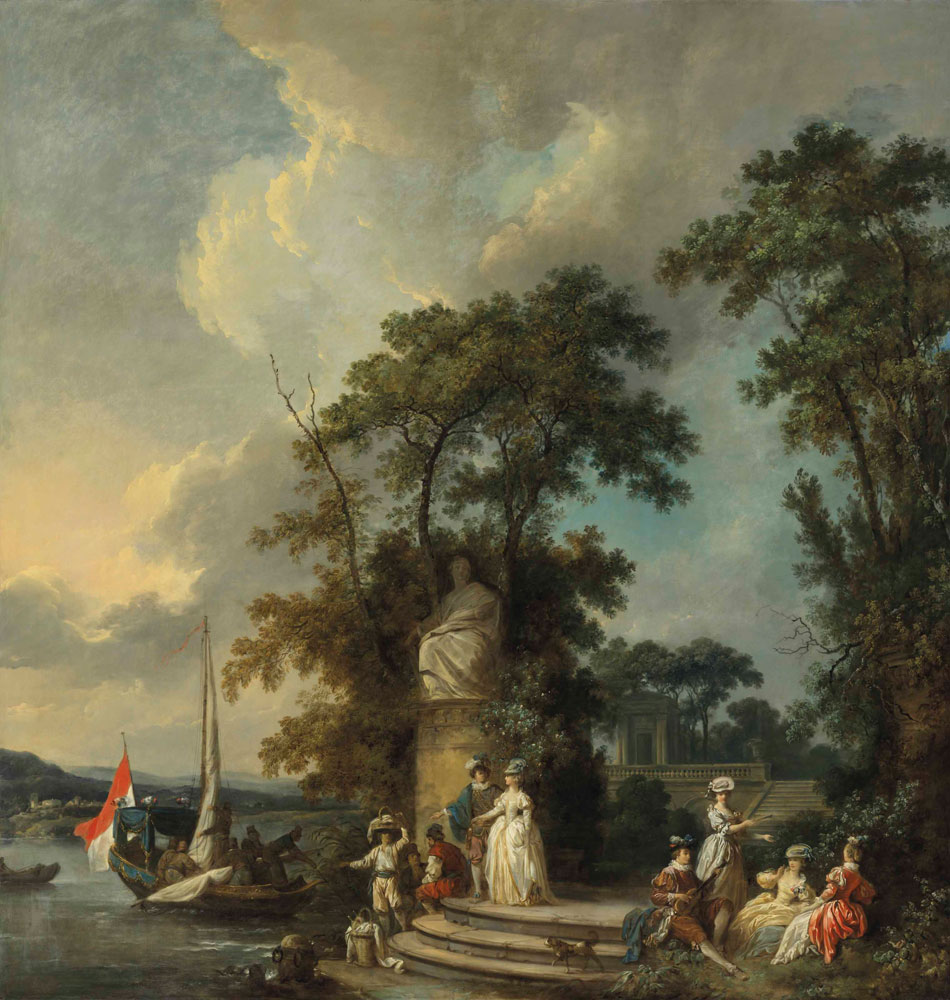 Jean-Baptiste le Prince - The Embarkation for Cythera