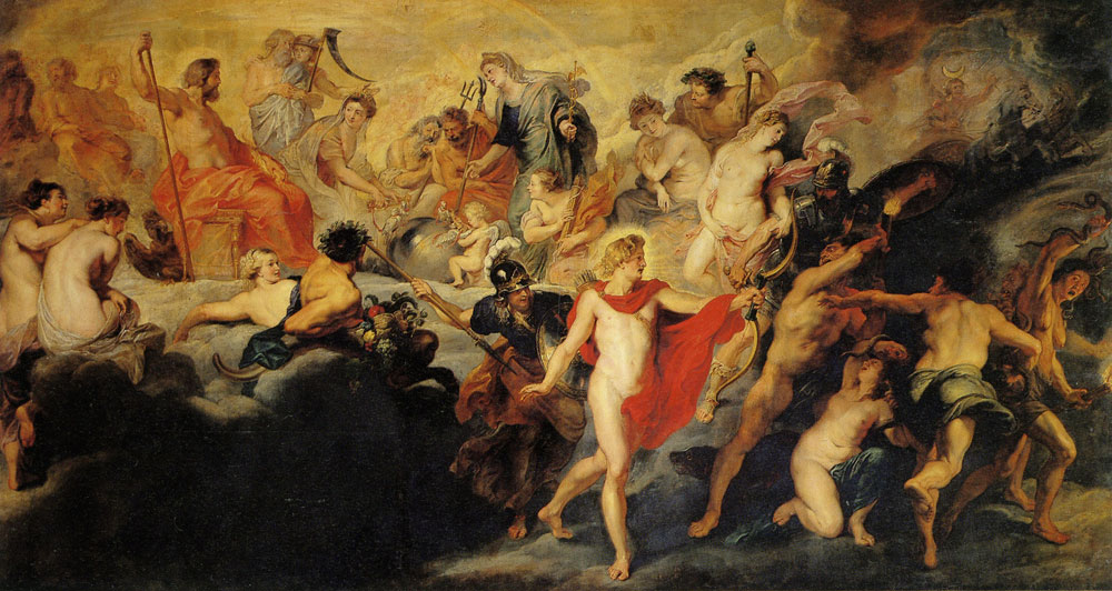 Peter Paul Rubens - The Concert of the Gods