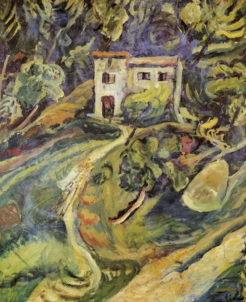 Chaim Soutine - House in the Woods