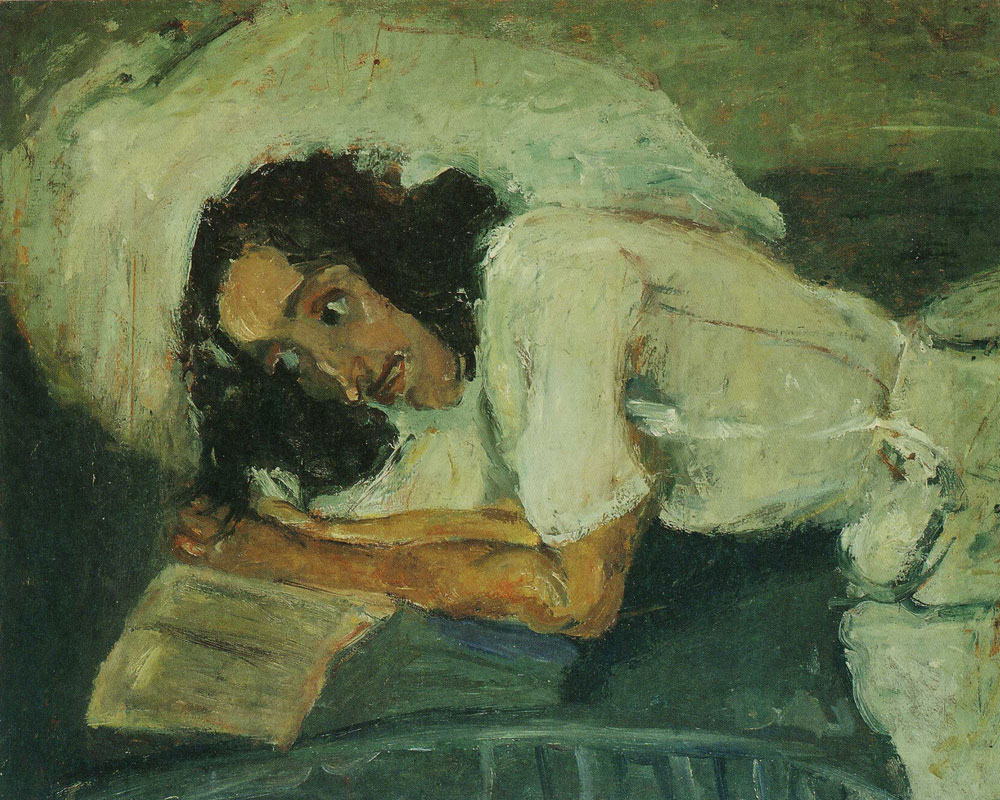 Chaim Soutine - Woman Reading