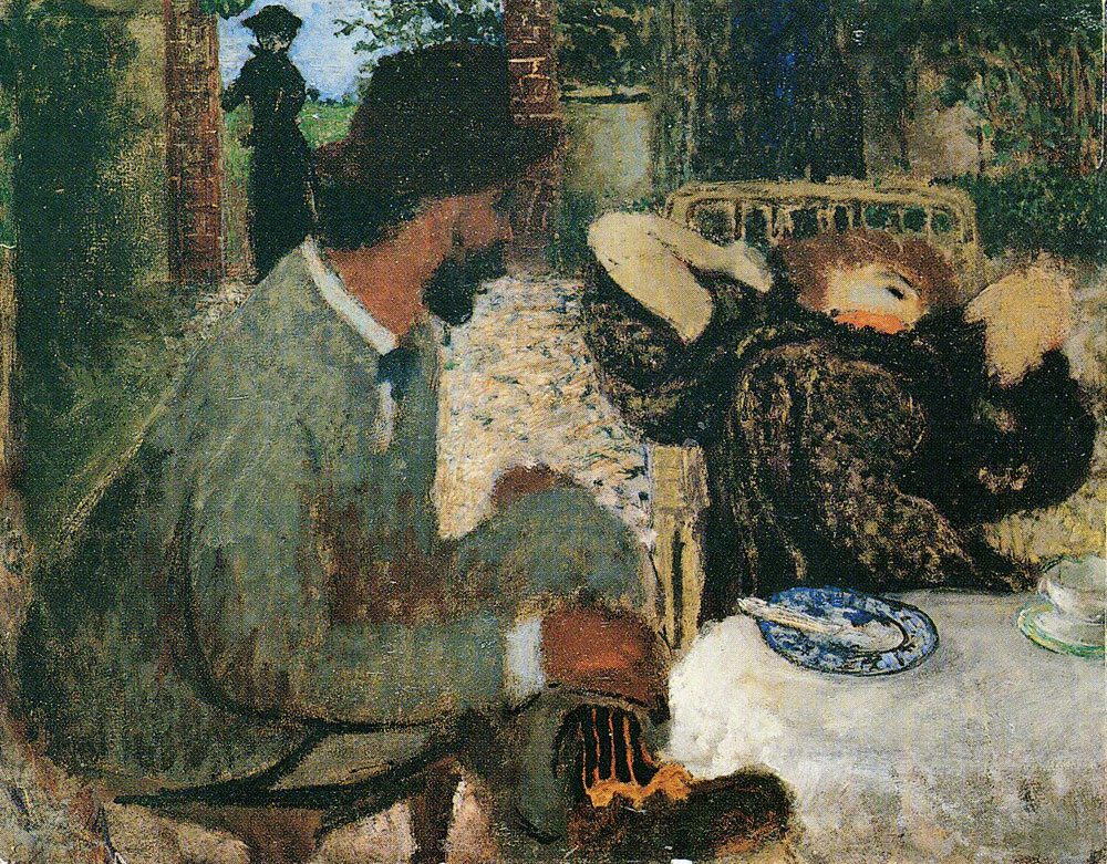 Edouard Vuillard - Afternoon Tea - III
