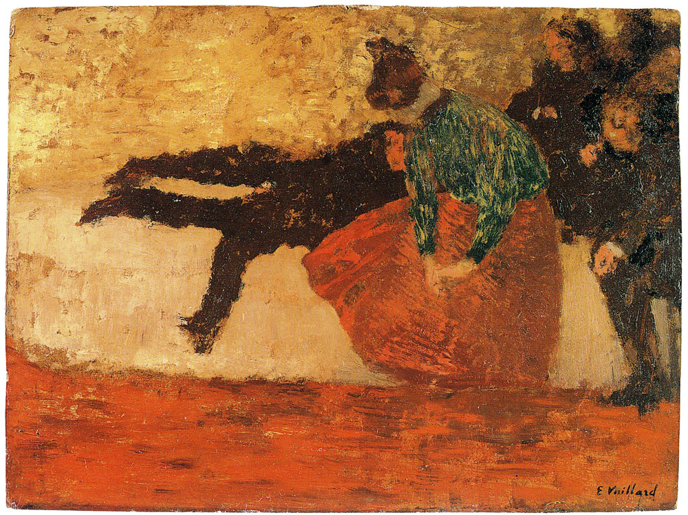 Edouard Vuillard - The Divan