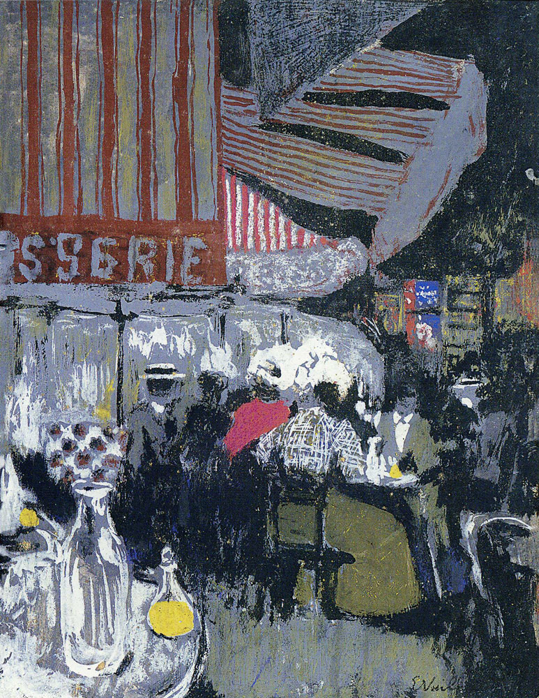 Edouard Vuillard - The Patisserie