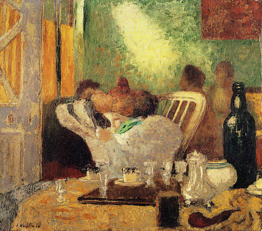 Edouard Vuillard - Reading