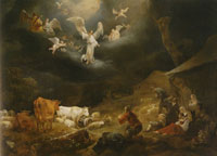 Nicolaes Berchem The Annunciation to the Shepherds
