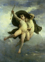 William-Adolphe Bouguereau Cupid Victorious