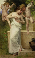 William-Adolphe Bouguereau - Love's Wounds