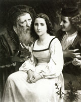 William-Adolphe Bouguereau Between Riches and Love