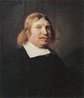 Jan de Bray Portrait of Gilbert de Flines