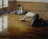 Gustave Caillebotte Floor Scrapers