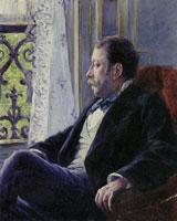 Gustave Caillebotte Portrait of a Man