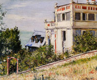 Gustave Caillebotte Villas by the Seashore