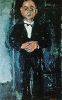 Chaim Soutine Portrait of a Young Man