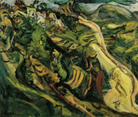 Chaim Soutine Road at Cagnes