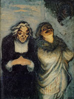 Honoré Daumier Scene from a Comedy