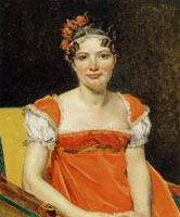Jacques-Louis David Portrait of Laure-Émilie-Félicité David, Baronne Meunier