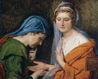 Jacques-Louis David The Fortune Teller