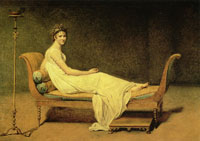 Jacques-Louis David - Madam Récamier
