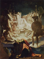 Jean Auguste Dominique Ingres Dream of Ossian
