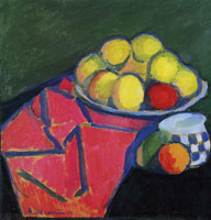 Alexej von Jawlensky - Still-life with apples