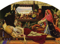 Ford Madox Brown Cordelia at the Bedside of Lear
