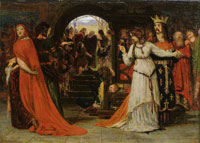 Ford Madox Brown The Parting of Cordelia and her Sisters