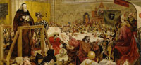 Ford Madox Brown Wyclif on Trial