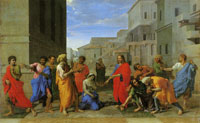 Nicolas Poussin Christ and the Adulteress
