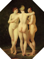 Jean-Baptiste Regnault The Three Graces