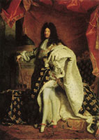 Hyacinthe Rigaud Portrait of Louis XIV