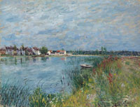 Alfred Sisley The Bank at Saint-Mammès