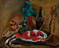 Chaim Soutine Fish, Peppers, Onions