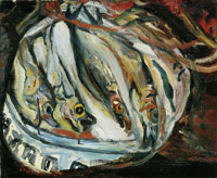 Chaim Soutine Still Life with Fish