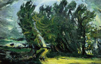 Chaim Soutine Windy Day, Auxerre