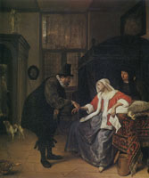 Jan Steen The Lovesick