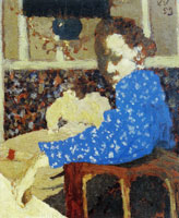 Edouard Vuillard The Blue Sleeve