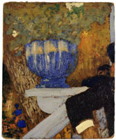 Edouard Vuillard The Blue Vase
