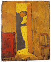 Edouard Vuillard The Half-Open Door