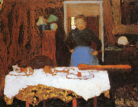 Edouard Vuillard - The Laid Table